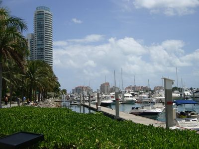 Miami Beach Marina South of Fifth