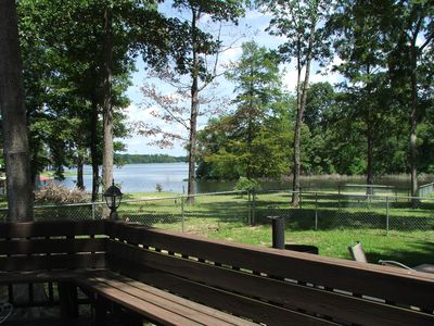 Milam house rental - looking at Patroon Creek area of Toledo Bend Lake