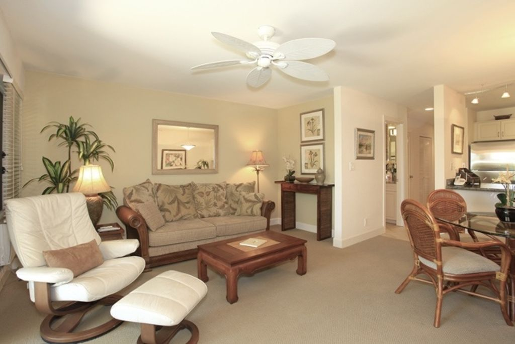 living room with comfortable sofa and leather chair bca living room furniture