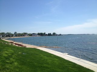 Branford house photo - Walk along the beach on this lovely path. Just steps away.