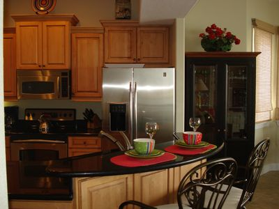 Gourmet Kitchen that is very well equipped for entertaining!