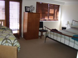 Canary Wharf & Docklands apartment photo - Bedroom One with two beds