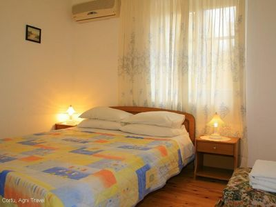 Agios Stefanos house rental - Double Bedroom