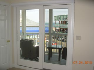 Seaside Heights townhome photo - Ocean View Deck off of Bedroom