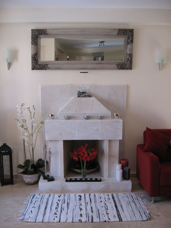 Feature Fireplace in the Lounge