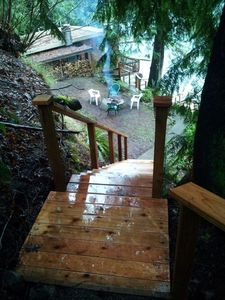 Port Angeles cabin rental - A little piece of heaven awaits you on Lake Sutherland, Olympic Peninsula.