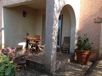 Pigna, apartment in 4-star Arena Bianca villa, close to the sea, pool
