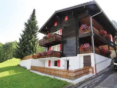 A holiday home in the hills above Grengiols.