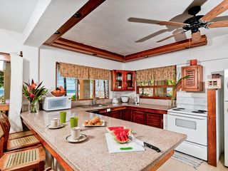 Playa Grande villa photo - Villa Olivia, Oceanfront Kitchen