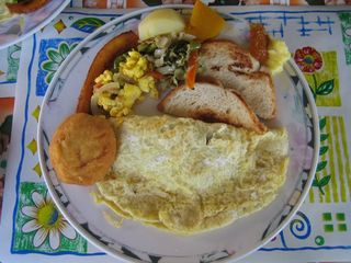 Negril cottage photo - Jamaican breakfast, yummmmmy