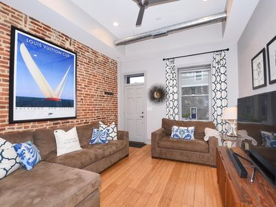 4 Story Luxury Art-Filled Home Canton Rooftop Deck