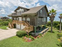 Direct oceanfront beach house. Casual comfort that makes you feel right at home.