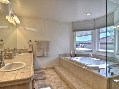 Jetted Tub & Fire Place in Master Bedroom!!!! Relax...