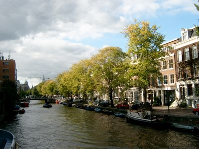 Canal District studio rental - The canal Lijnbaansgracht