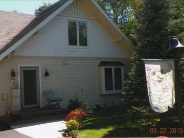 Petoskey cottage rental - A Rear (front) of house.
