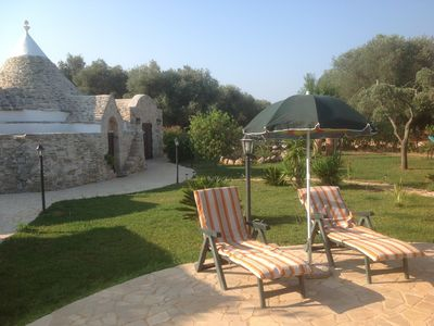 Trullo Santana with a stunning 16 x 8 m pool