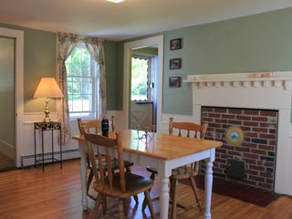 Lamoine farmhouse photo - dining room