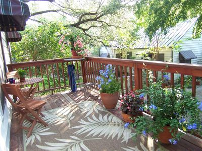Deck off living area