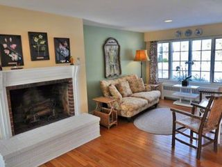 Vineyard Haven house photo - Second Living Area Has Fireplace