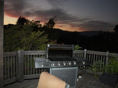 View from Deck #3 Showing BBQ