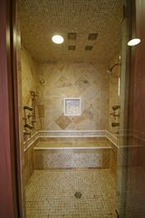 MBR4 steam shower with body jets & rain heads - Newry house vacation rental photo