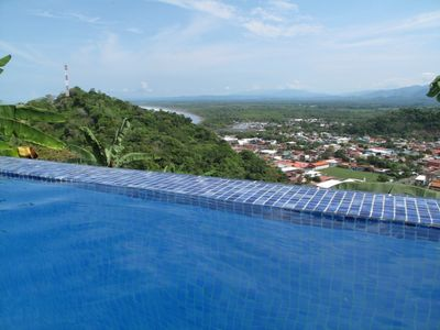 Relax in the fabulous Infinity Pool