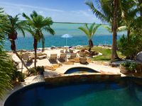 Luxurious Oceanfront 5BR Property with Pool & Waterfall