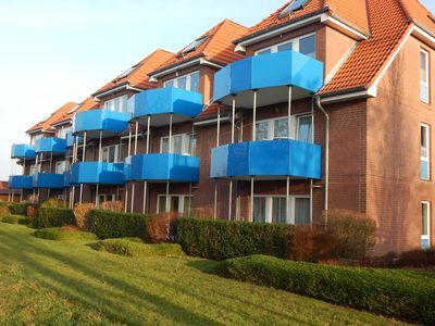 Apartment on the ground floor of a very well maintained apartment complex Haus Amrum