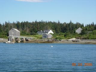 Vinalhaven farmhouse photo - View from mouth of Crocketts Cove