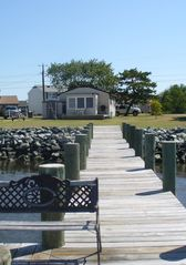 Crisfield house photo - Private dock within yards of the house
