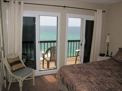Perfect front beach view from Master Bedroom