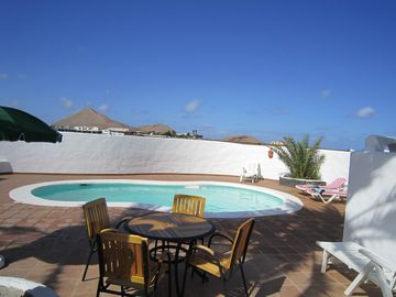 La Bodega, heated pool and sun terrace