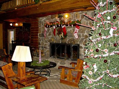 The Hearth at Christmas