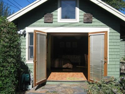 French Door Rear Entrance