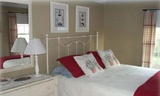 Cape May house photo - Bedroom with queen sized bed