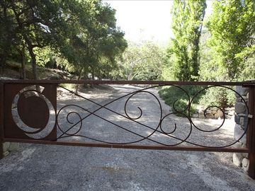 Ojai estate rental - Private Entrance