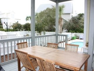 Crystal Shores cottage photo - Deck & private pool