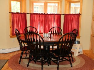 Carrabassett Valley condo photo - Dining area off from the kitchen.