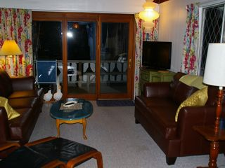 Conway chalet photo - New Furnishings for 2012. Two new sofas and a 32 in. LCD Television
