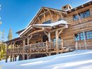Custom designed log home - Big Sky house vacation rental photo