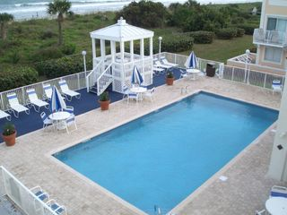 Cape Canaveral condo photo - Pool directly on Ocean
