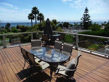 Pismo Beach house rental - Enjoy the panoramic ocean view from expansive outdoor deck.