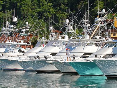 The ultimate sport fishing fleat