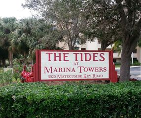 Punta Gorda condo photo - Condo entrance sign