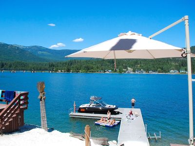 Paradise on Pend Oreille! Stunning Private Waterfront Lake House