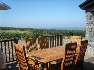 County Clare house photo - Deck Area with views to Aran Islands