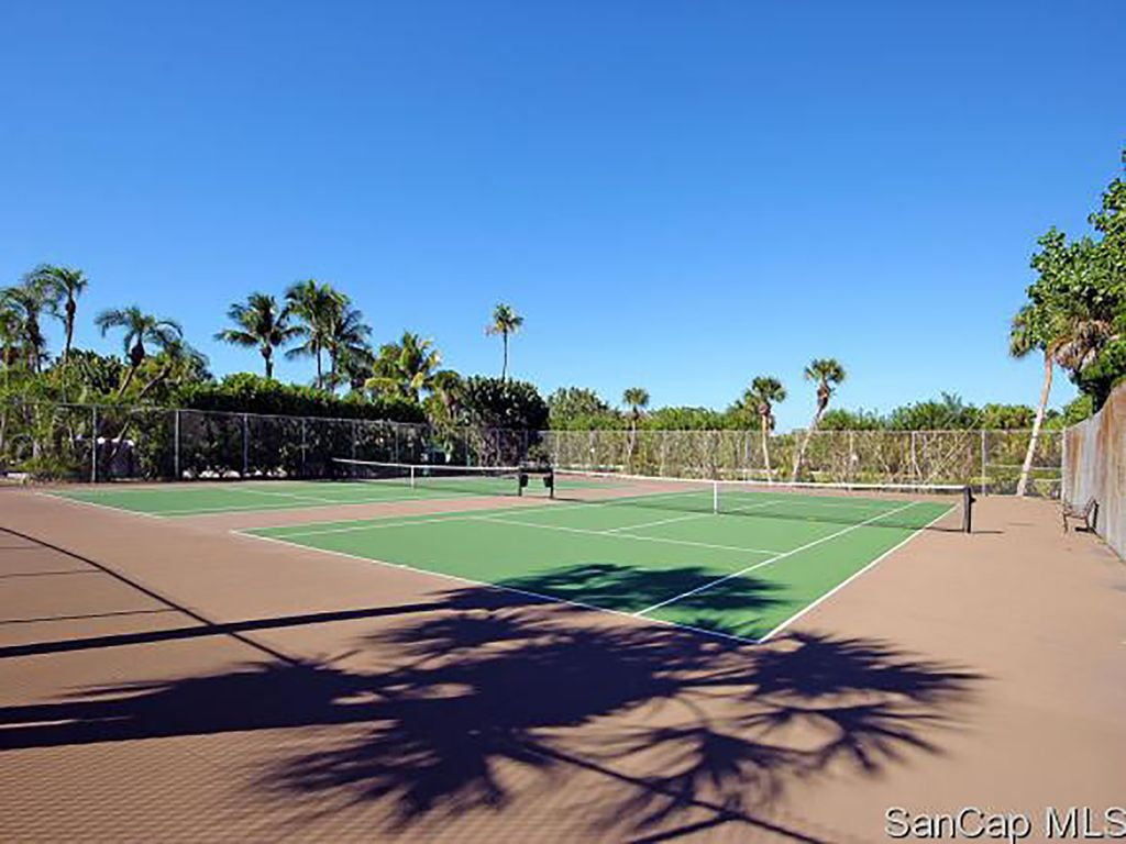Tennis courts are free to our guests