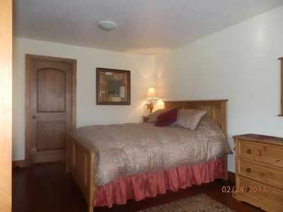 Prospector Square condo rental - Master Bedroom with attached bathroom