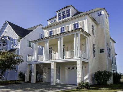 Atlantic Cabana Beach House- 5Bd/4 1/2 Bath with elevators on all levels