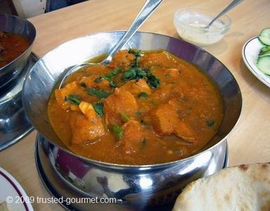 Wimbledon apartment rental - South London is known for it's curry houses!